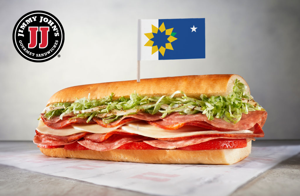 Jimmy John's Choose Topeka Sandwich